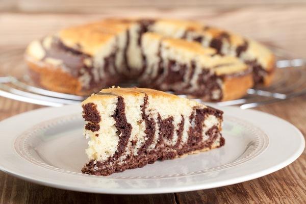 zebra cake cake marbr z br vanille chocolat recette. Black Bedroom Furniture Sets. Home Design Ideas