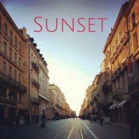 Sunset, Bordeaux