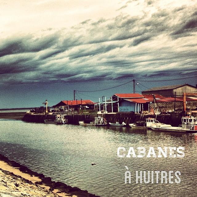 Cabanes à huîtres, Gujan Mestras - bassin d'Arcachon