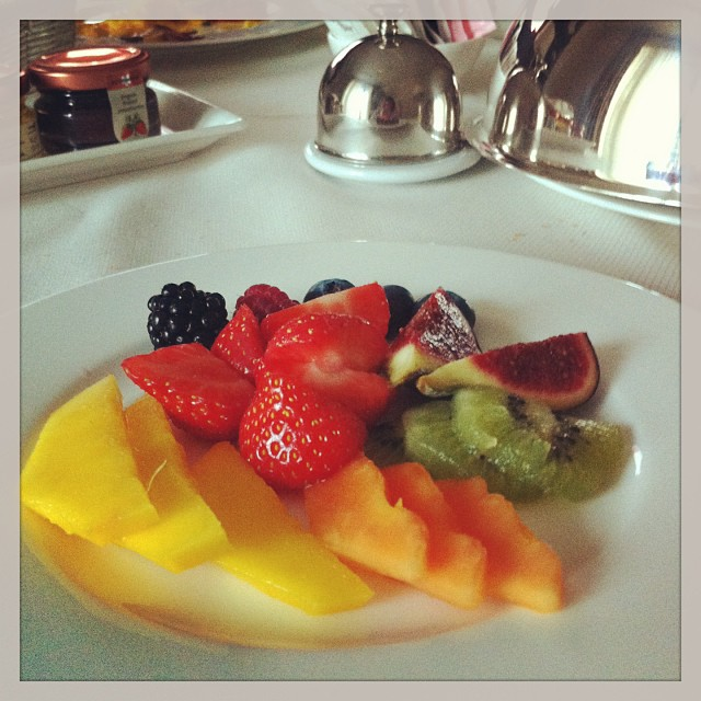 Breakfast Time In Milan
