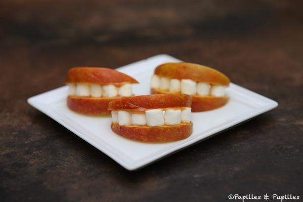 Recette facile d halloween ou de zombie walk des bouches pleines de dents - Recette gateau halloween facile ...