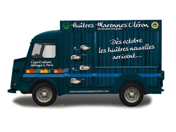 Cabanes à huîtres itinérante Marennes Oléron