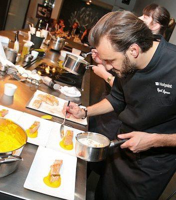 Cyril Lignac - Cours de cuisine paris cyril lignac