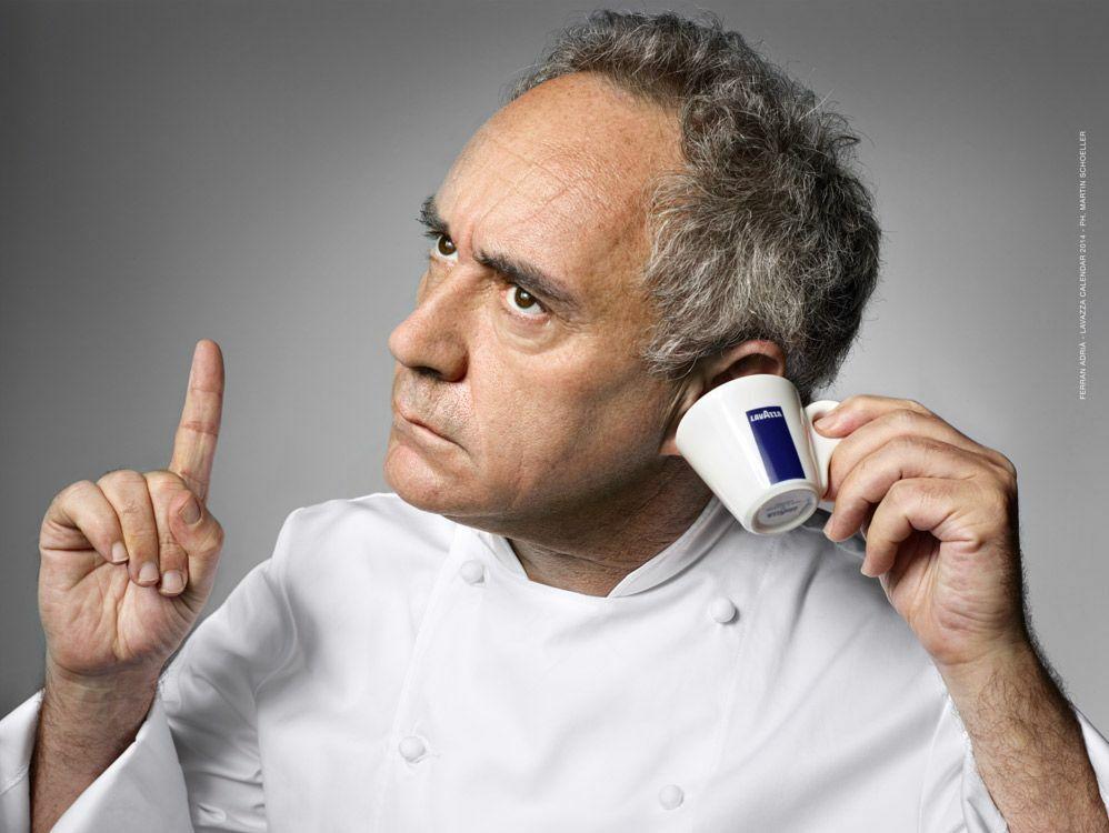 Ferran Adria pour Lavazza