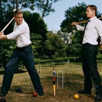 George Clooney et Brad Pitt ©Martin Schoeller