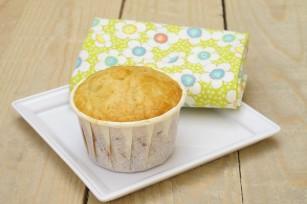 Muffins au citron et aux pépites de chocolat blanc