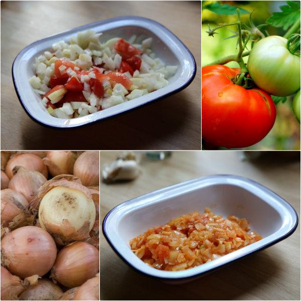 Tomates et oignons