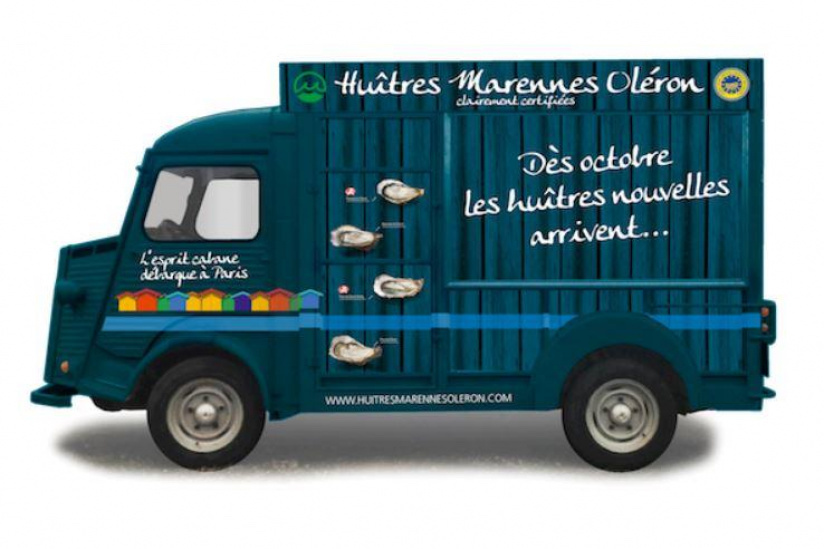 Un food truck pour les huîtres de Marennes Oléron
