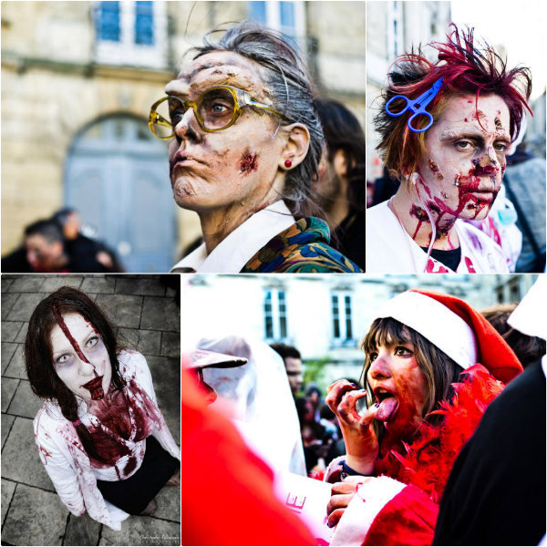 Zombie Walk Bordeaux 2012 ©groupe Facebook Zombie Walk de Bordeaux