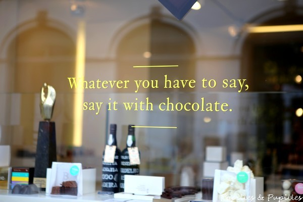 whatever you have to say say it with chocolate