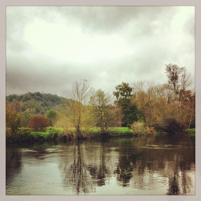 Sur les bords de l'Isle, Dordogne
