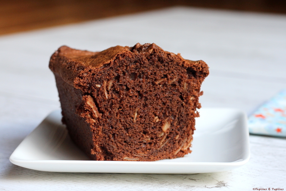 Cake chocolat amande