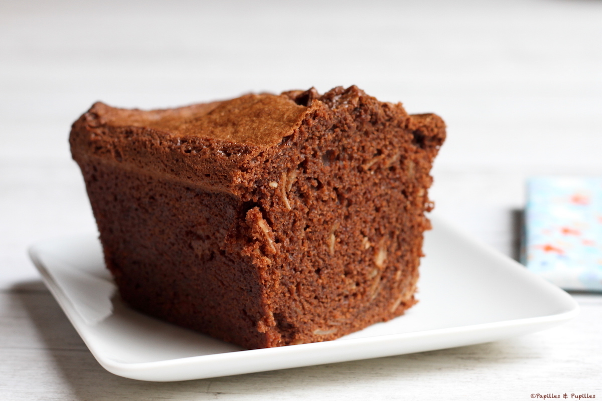 Cake chocolat et amandes