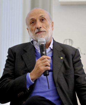 Carlo Petrini - Slow Food - Conférence de Presse, Calendrier Lavazza 2014