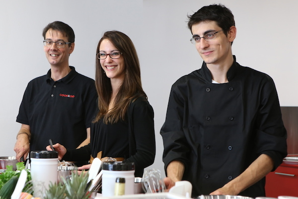 L'équipe de Cook and Go