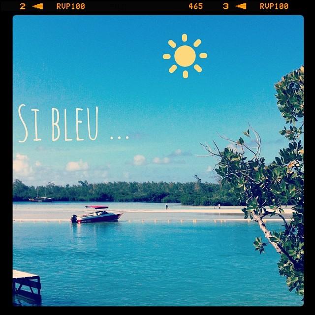 So blue ....