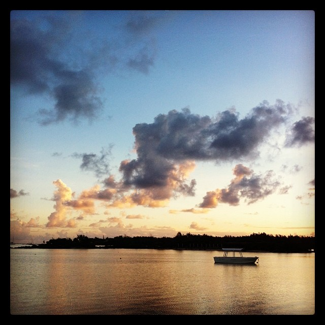 Sunrise, Île Maurice