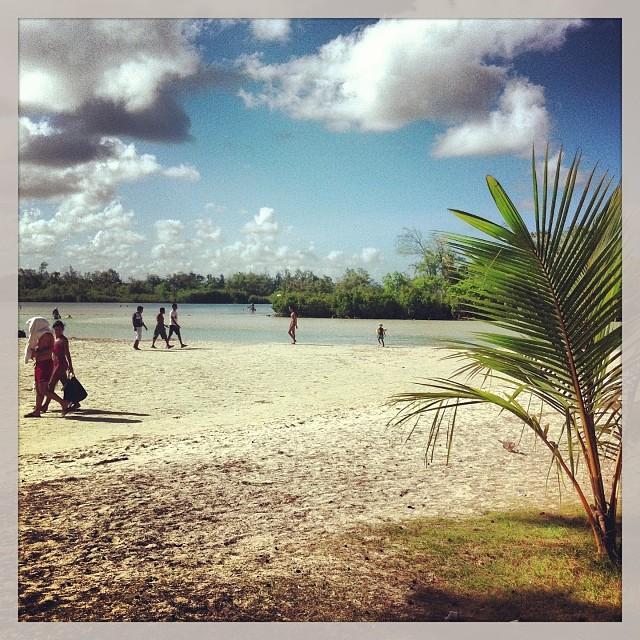 Journée plage à l'île aux cerfs