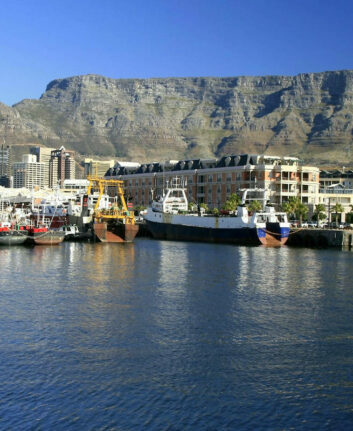 Cape Town et la Table Mountain ©Exfordy – licence CC BY 2.0