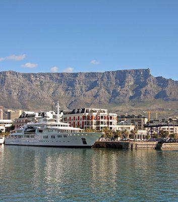 Cape Town et la Table Mountain ©Exfordy - licence CC BY 2.0
