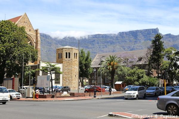 Cathédrale Saint George Cape Town et Table Mountain