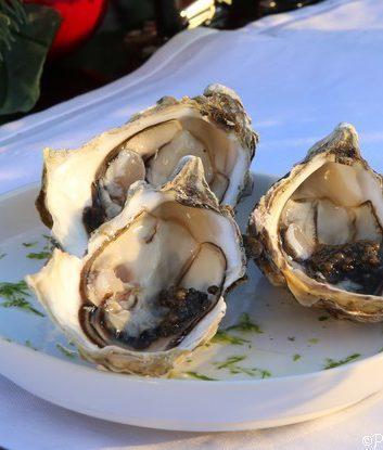 Huîtres et caviar