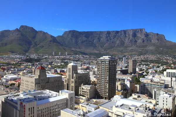Table Mountain sous le soleil