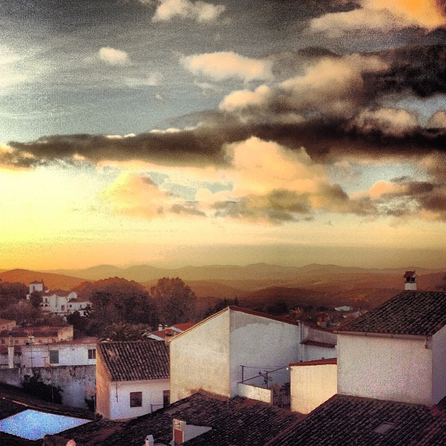 Sunrise - Arancena, Spain