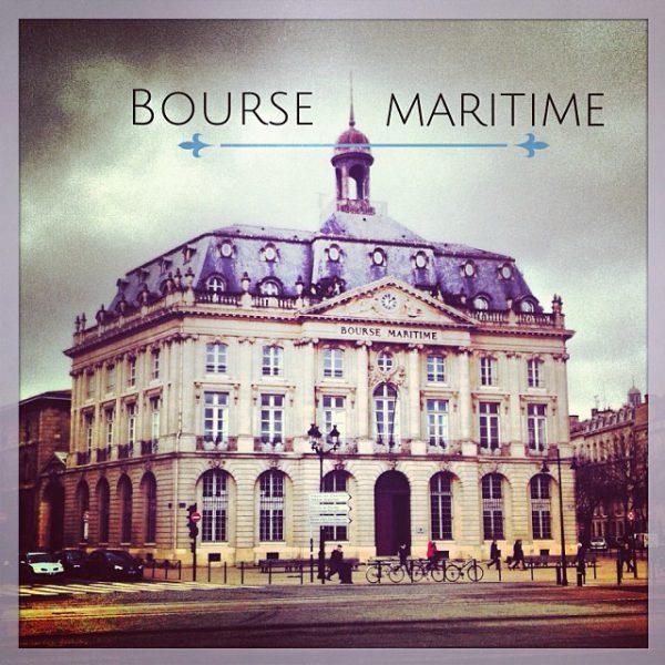 Bourse Maritime, Quai Louis XVIII