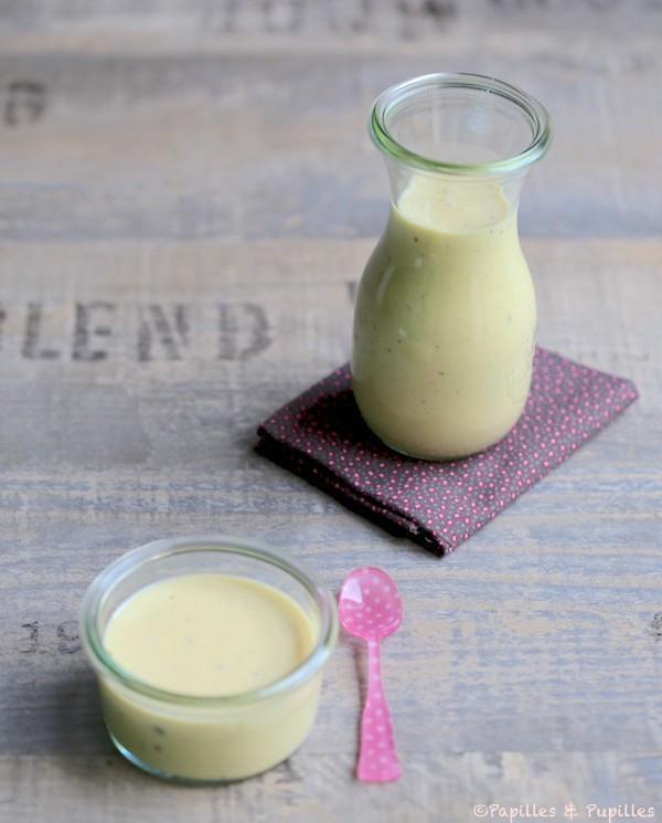Crème anglaise à la vanille