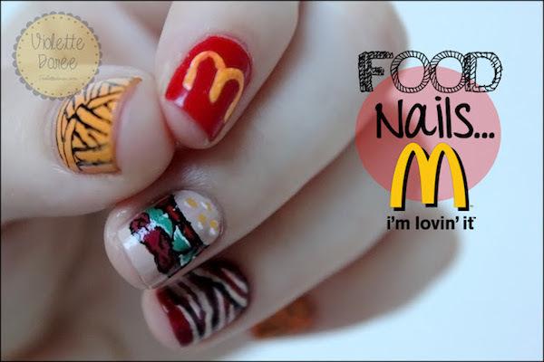 Food Nails ©Violette dorée