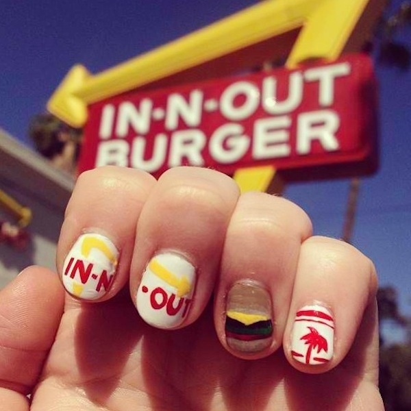 In-n-Out burger ©MissPop Nails
