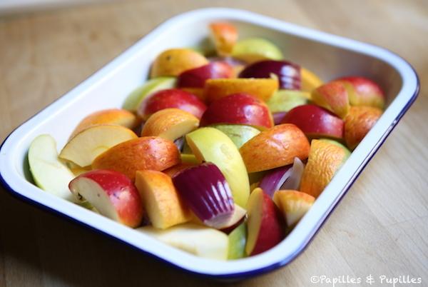 Pommes avant cuisson