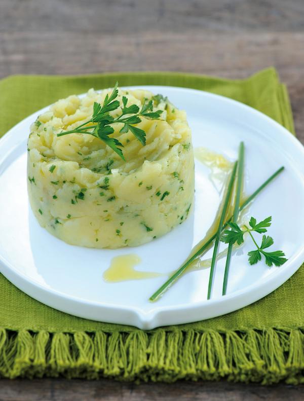 Purée de pommes de terre à l'huile d'olives et aux herbes ©JC Camus - F Schmitt