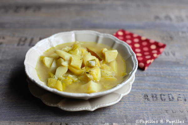 Soupe rustique aux poireaux et pommes de terre