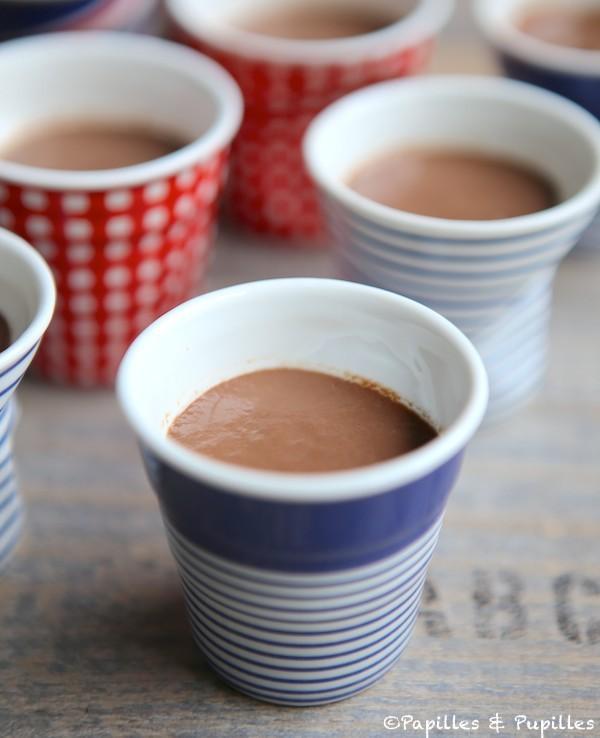Crèmes dessert au chocolat