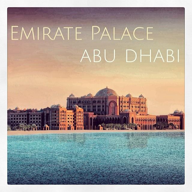 Emirate Palace, Abu Dhabi