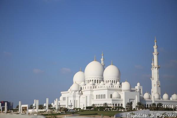 La grande mosquée - Abu Dhabi