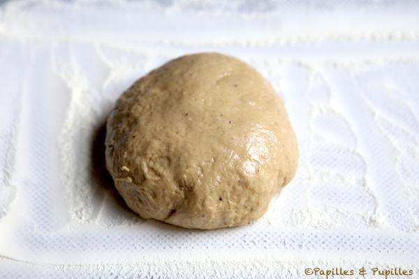 Pâton mis en forme avant la seconde levée