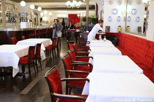 Salle de restaurant - Café du Levant