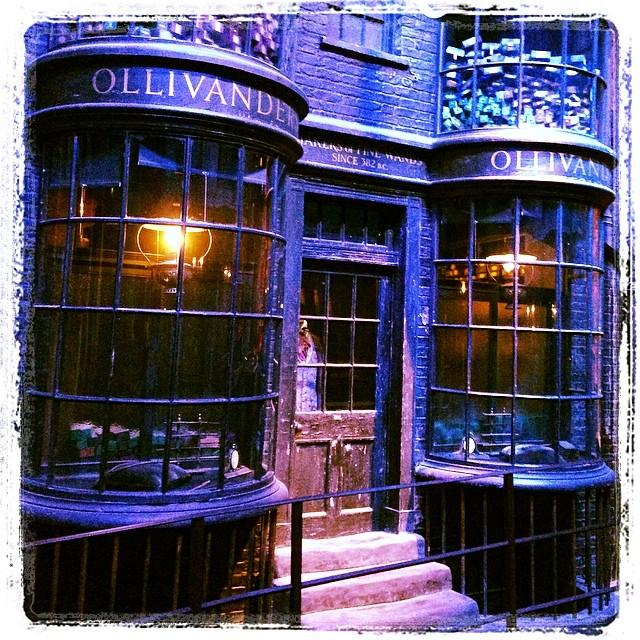 Chez Ollivanders - chemin de traverse #harrypotter