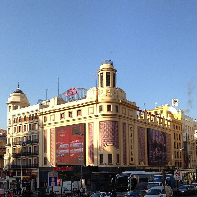 Cines Callao - Madrid