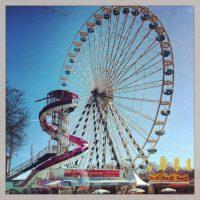 Grande roue, place des Quinconces, Bordeaux