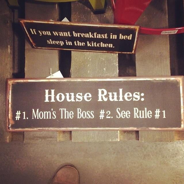 Règle Numéro 1