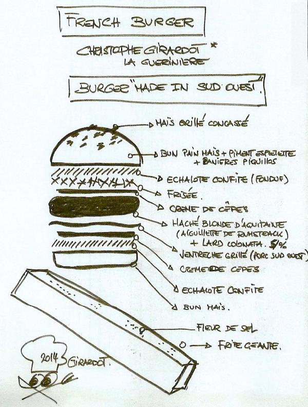 French Burger Christophe Girardot