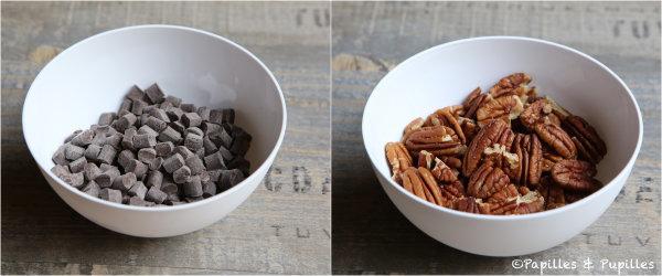 Chocolat et noix de pécan