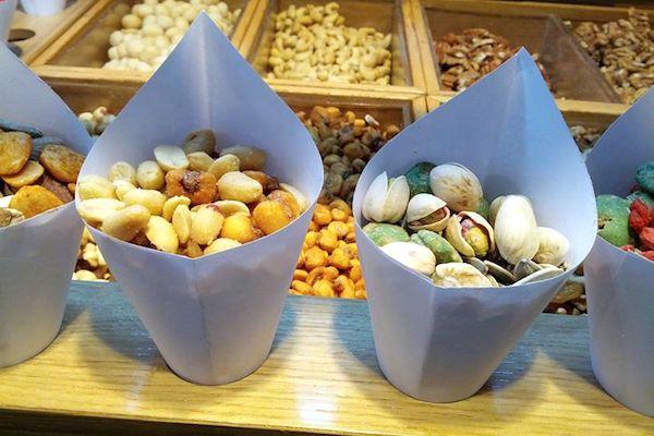Cornets de fruits secs ©Mercado de San Miguel