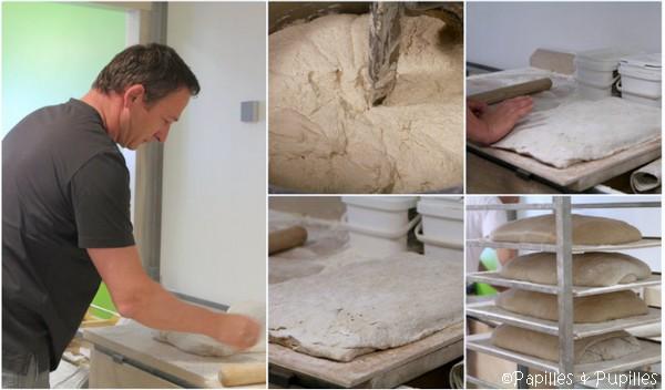 Laurent Lachenal et le travail du pain -