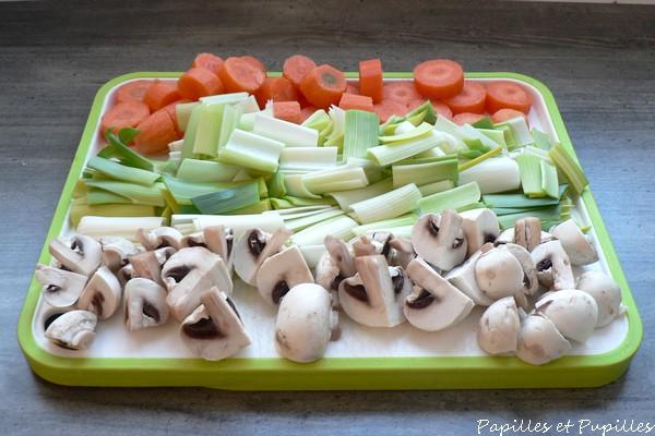 légumes pour waterzooi
