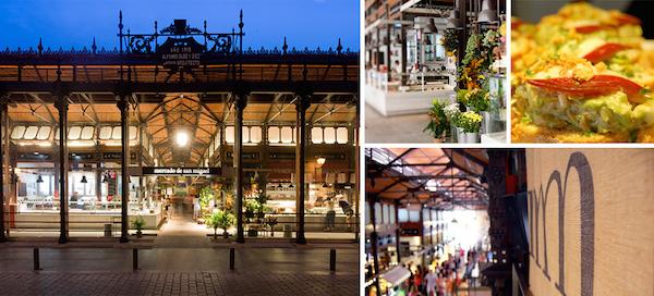 Montage photo El Mercado de San Miguel
